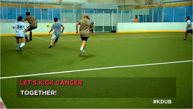 Knoxville Weekend - #KDUB Cares :: Kickin' Cancer
