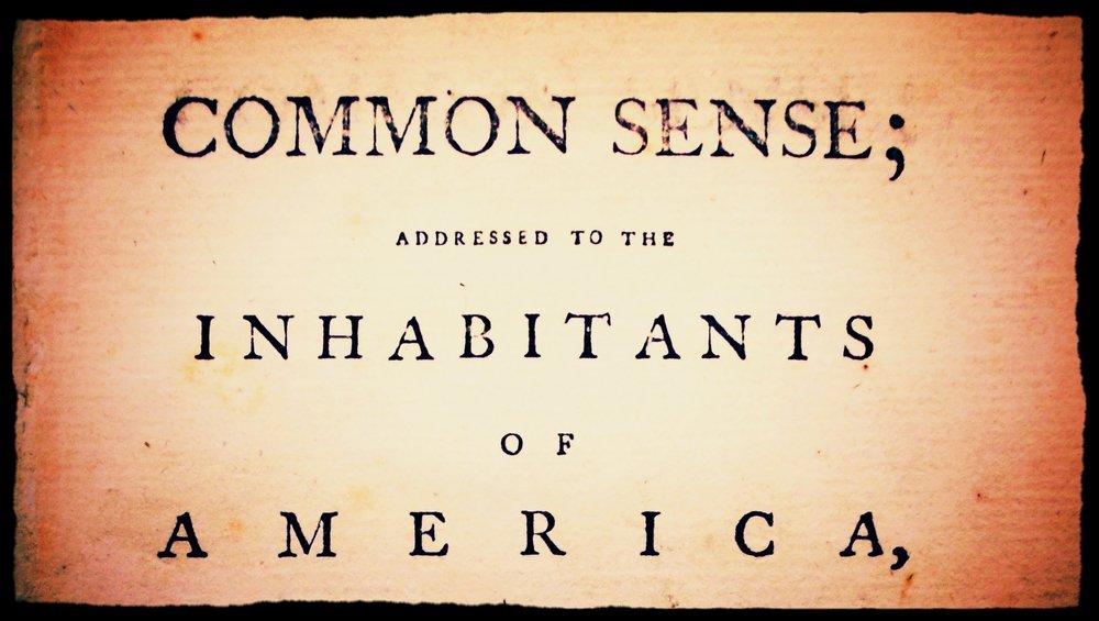 Read   Common Sense.