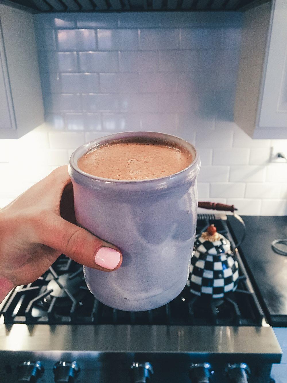 Hot Cacao Collagen Elixir