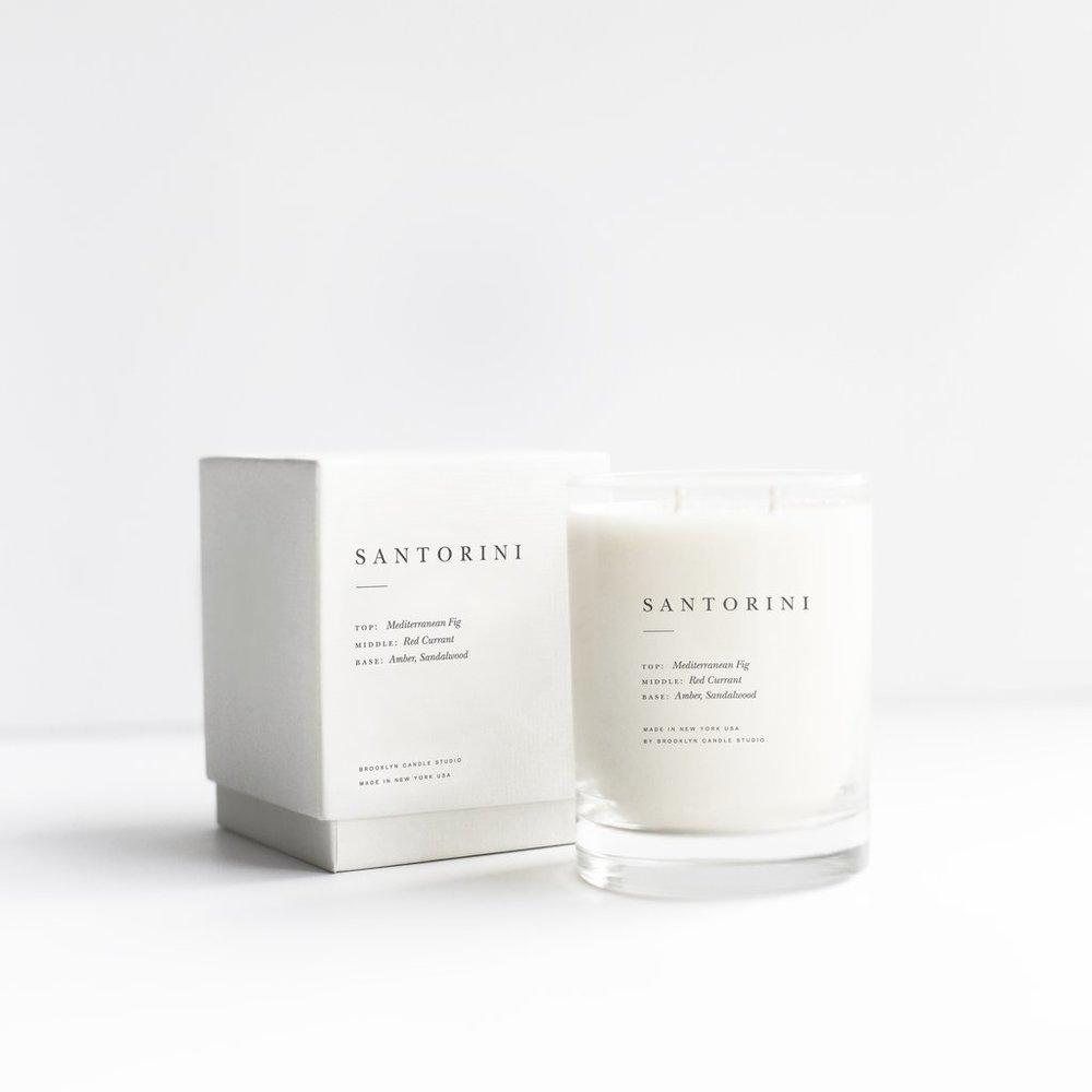 Santorini Candle   $38