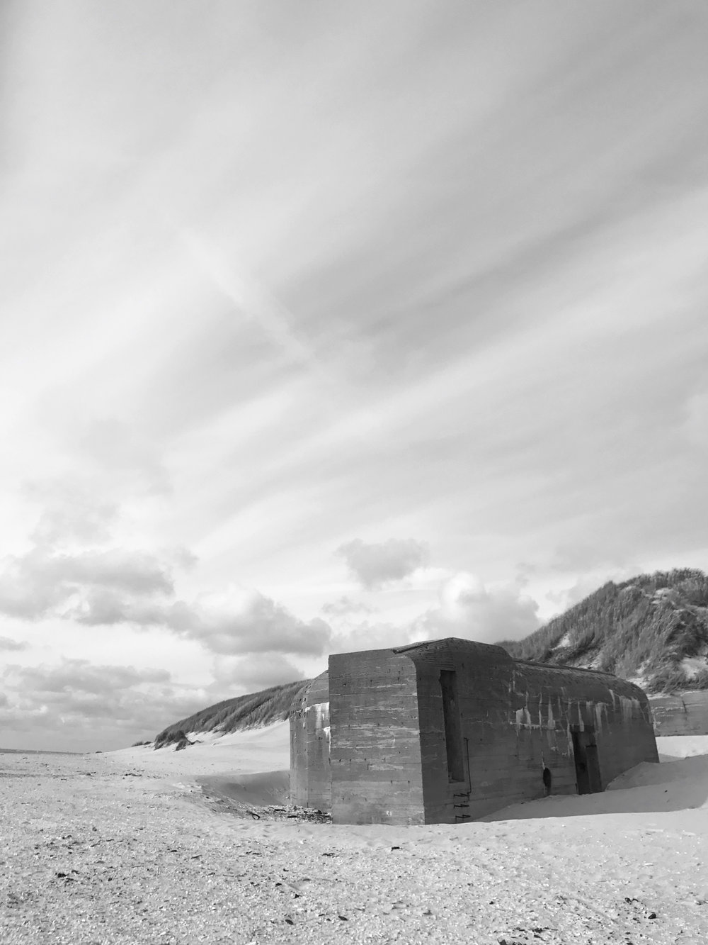 Bunkers in the sand - Denmark's West Coast and Tirpitz Museum