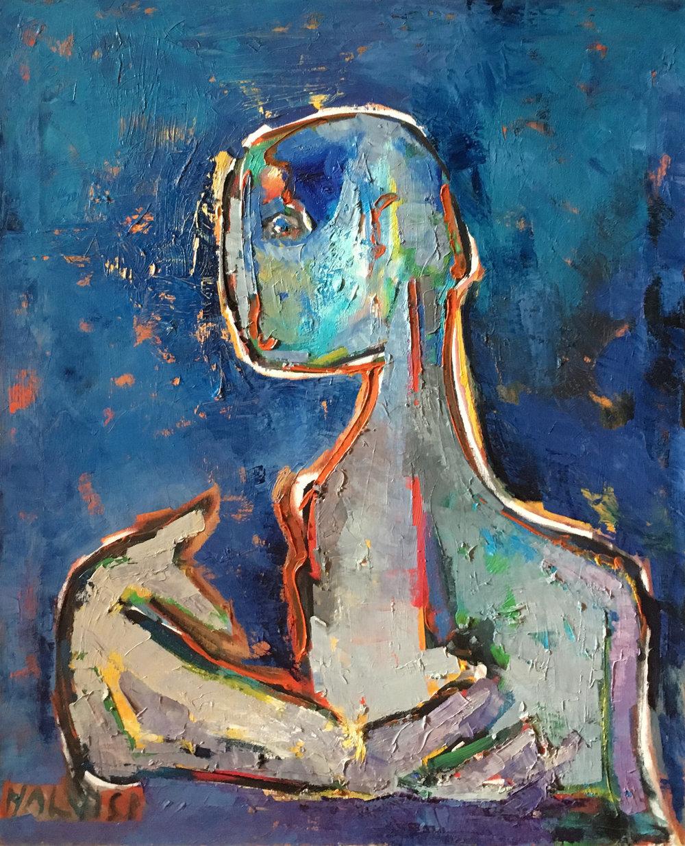 <b>Appearances</b><br> 1989 Oil on canvas <br> cm 60 x 80