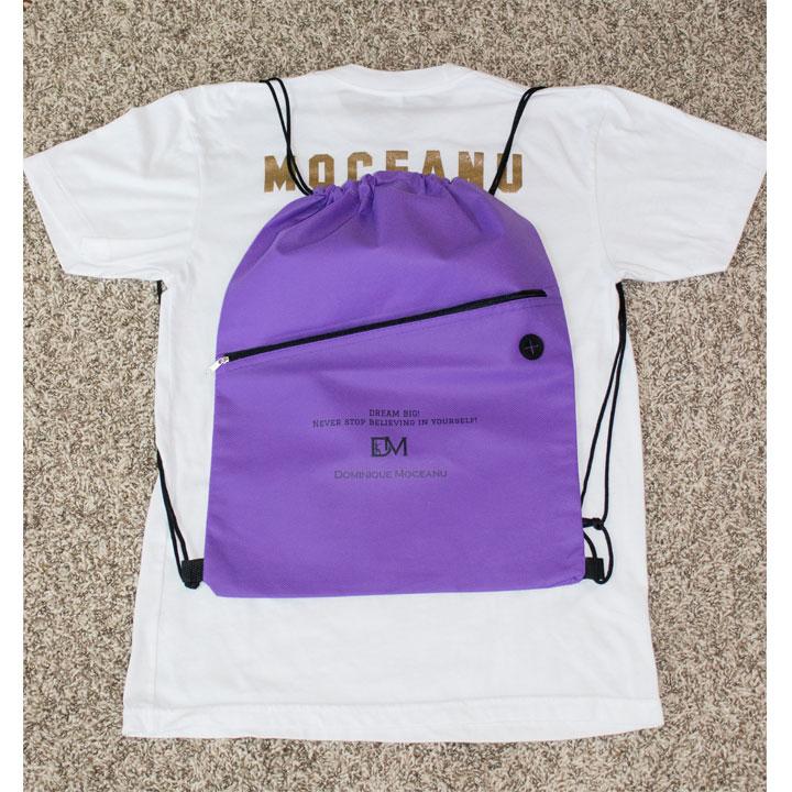 Dominique Moceanu Dream big gym bag: $19.99