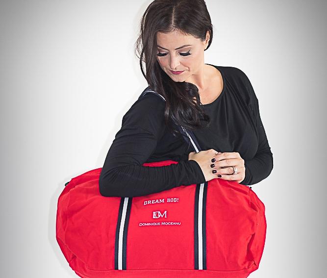 Dream Big Gym Bag $35