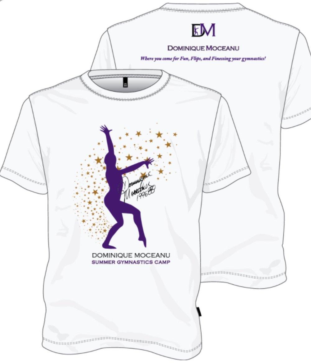 Dominique Moceanu Camp T-Shirt: $26.00