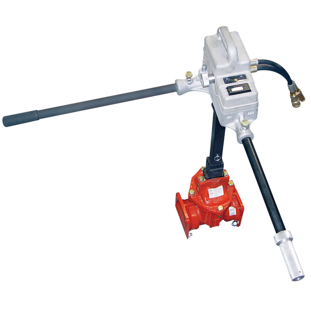 THE EXERCISER - Valve exerciser with one-man operationTorqueUp to 250 ft-lbs.Max. Speed57 RPM