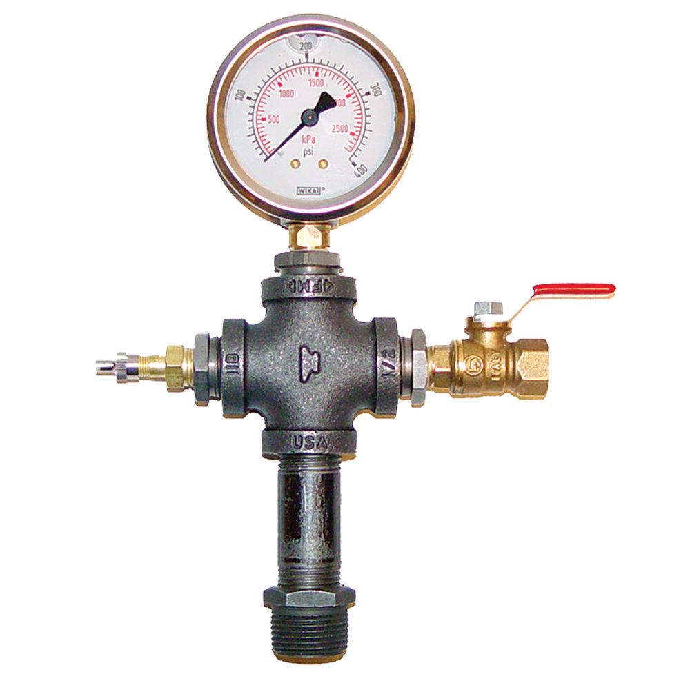 TEST GAUGE - Pressure test gaugeTest Range0 - 200 psi