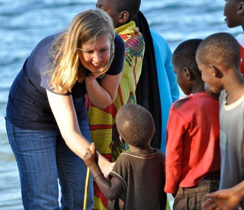 Kate Evans in Malawi
