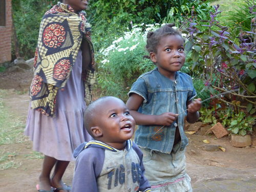 Precious faces of children in Malawi