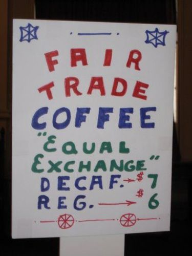 Fair Trade Coffee Sales