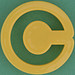 Pastry Cutter Letter C