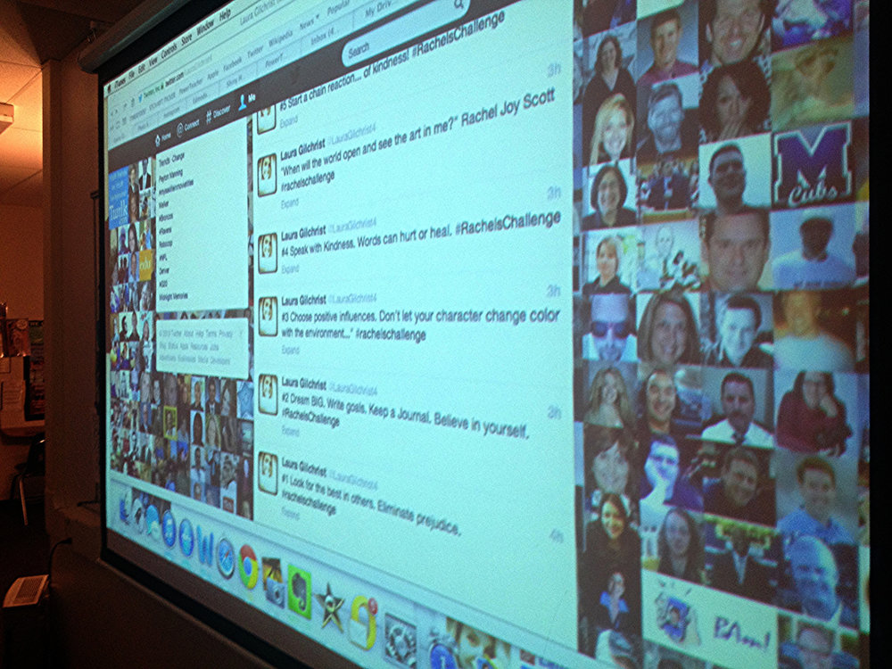 The Bigscreen in the Classroom: Twitter
