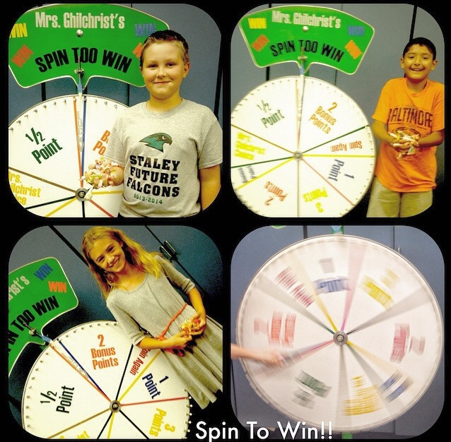 Spin to Win Lucky Lucky Winners! 14-15