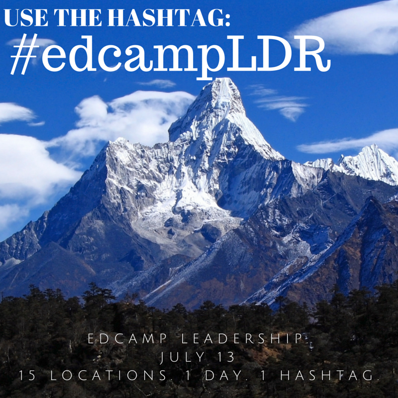 Edcamp Leadership Hashtag