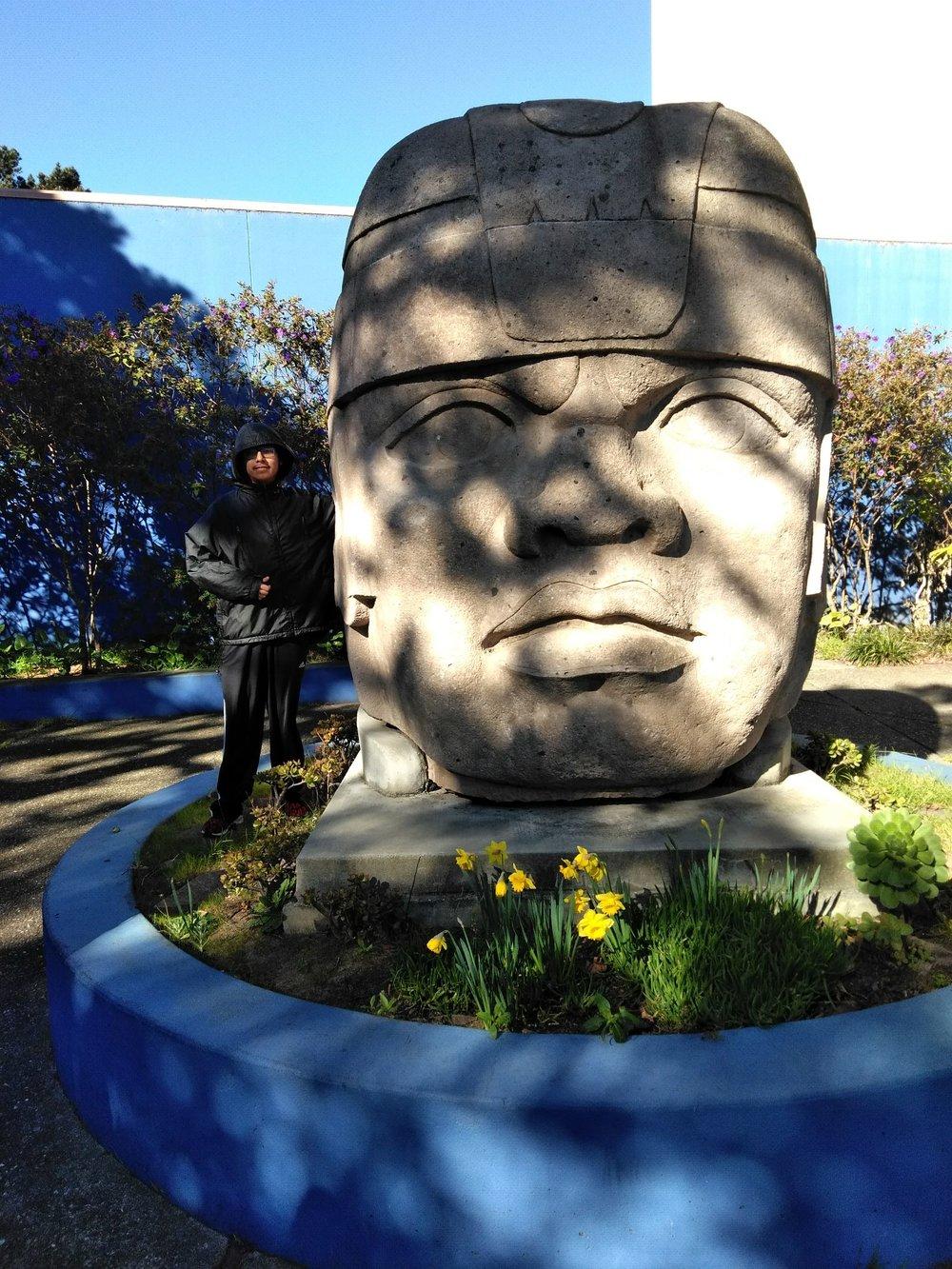 Israel Benavides - Olmec Statue.jpg