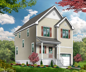 Raritan - The Raritan can be built on your lot for $229,500