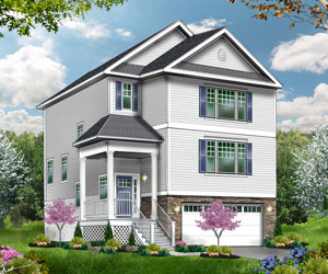 Sandy Hook - The Sandy Hook can be built on your lot for $247,500