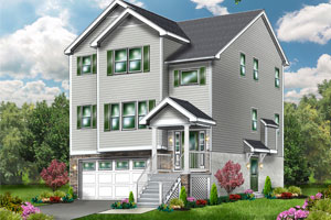 Hudson - The Hudson can be built on your lot for $258,900
