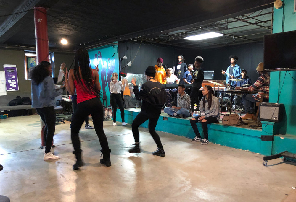 90.5 WESA - With 'Not A Whole Lot' For Kids To Do, Hazelwood Group Filled The Void With Jazz, Rap & SportsMarch 19, 2018BY JOAQUIN GONZALEZ