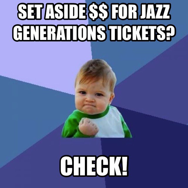 #musicmondays The 9th Annual Jazz Generations lineup will be announced on Friday! Tickets sales tba #music #jazzgenerations #rytmo #creatives #artists #supportperformingarts #successkid #mememonday