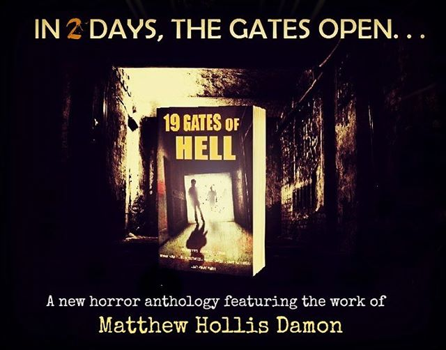 Get it on the 20th - just in time for freaky Halloween reading! So excited to have been selected for this horror anthology. 19 Gates of Hell's 19 tales plummet you deep into the stuff of your worst nightmares - supernatural creepiness, evil scientific experiments and psychological mindfuck-age! Grab your copy on Amazon, Barnes and Noble, Kobo or Apple Books.
