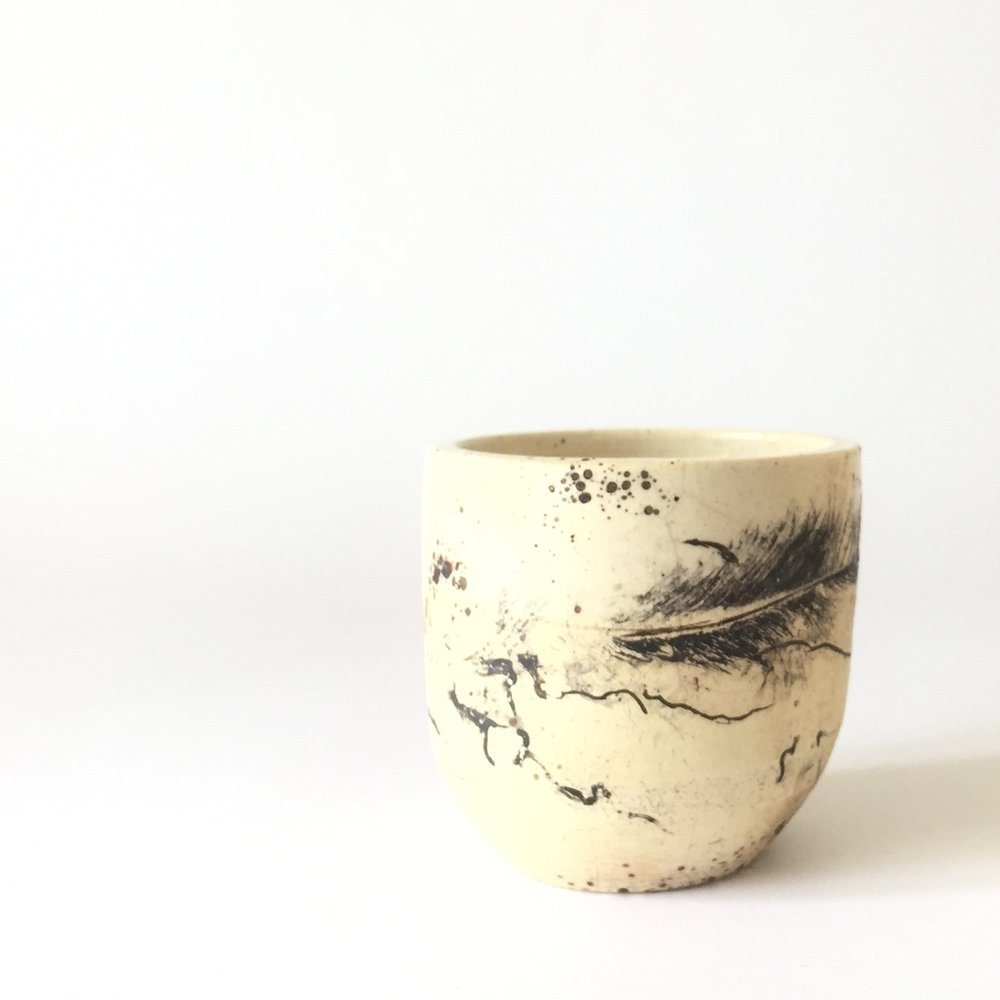 "Horsehair Cup  3""H x 3""W Wholesale 30"