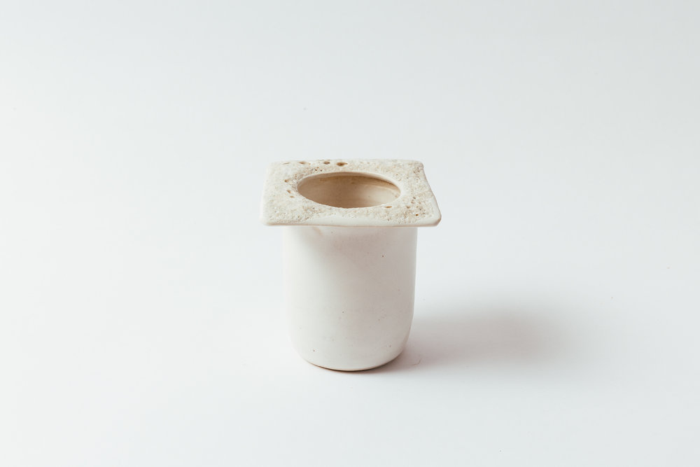"""Moonscape Square Vase  5""""H x 4""""W x 4""""W Wholesale 40"""