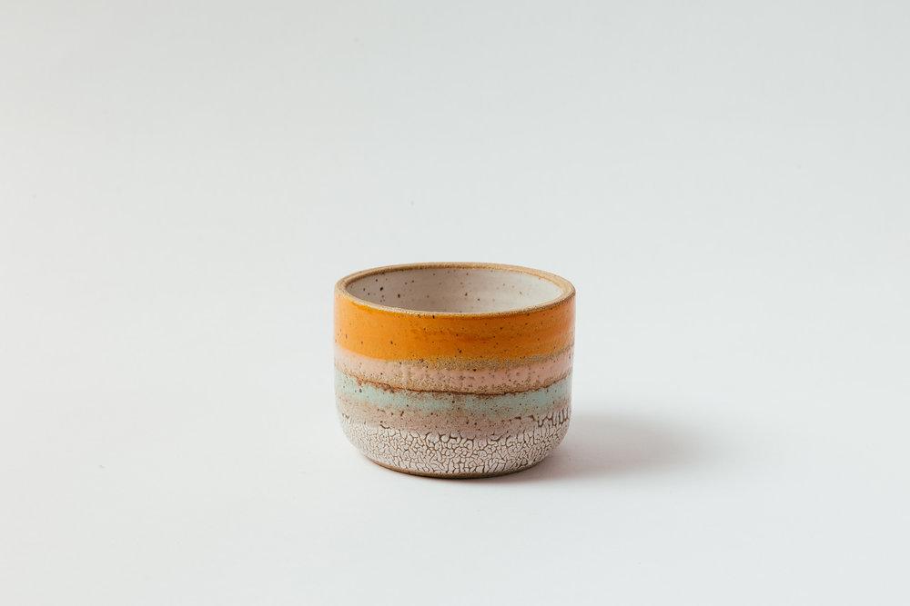 """Low Bowl, Medium   Glaze on speckled stoneware.  3.5""""H x 5.5""""W Retail 68"""