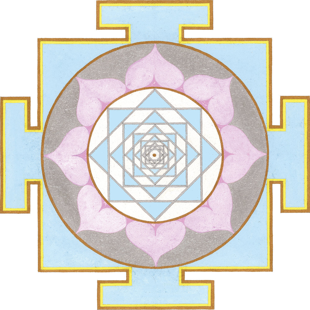 VENUS YANTRA PRINT  (Click here to see more Yantras)