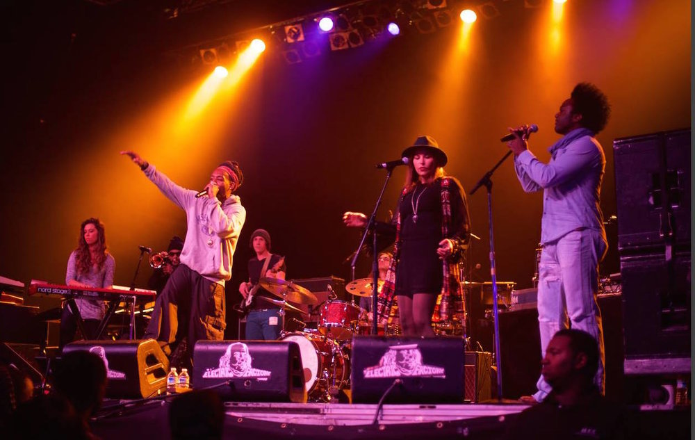 Opening for Lauryn Hill with the Kuf Knotz Band - Electric Factory, Philadelphia, PANovember 15, 2014
