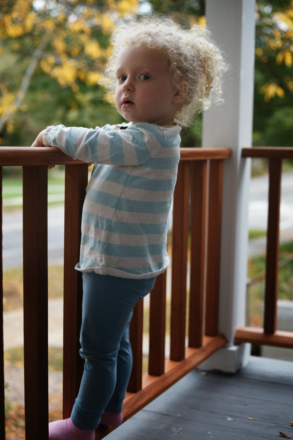 Yeah, my daughter is standing on a railing that I built.  I wouldn't let her do that unless I trusted my own work.