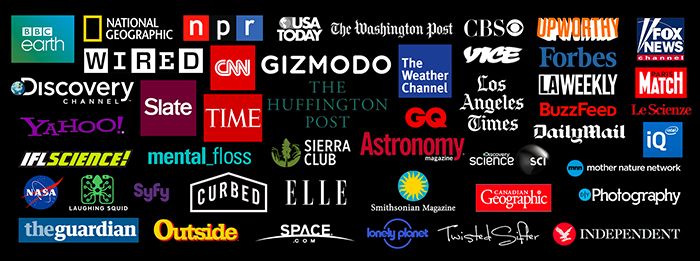 Some of the media coverage SKYGLOW has received...
