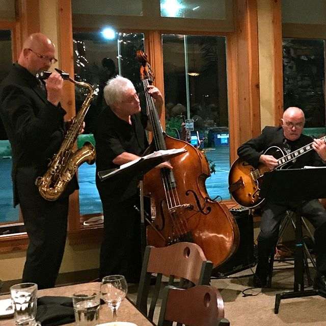 Rich Mowers' Trio celebrating starry skies at Valentini's Vicino Lago