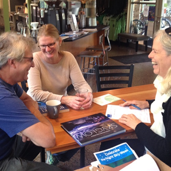 Planning a Star Party at Cedar Coffee Company in Two Harbors