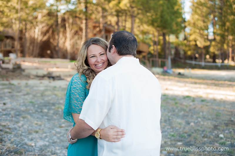 Big Bear Engagement Session