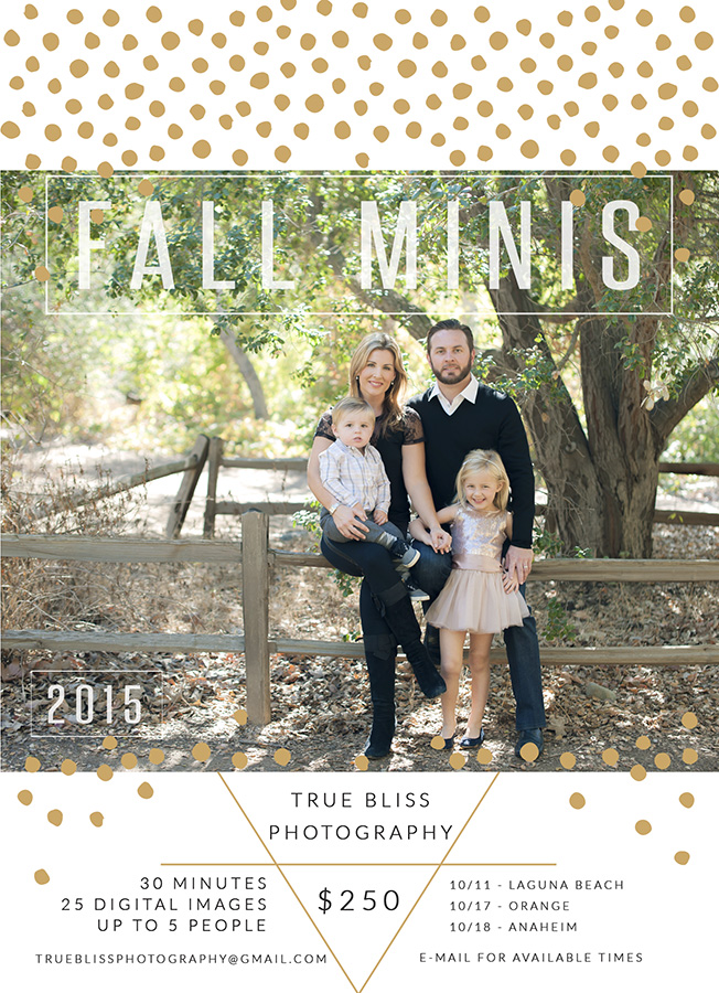 Orange County Fall Mini Session