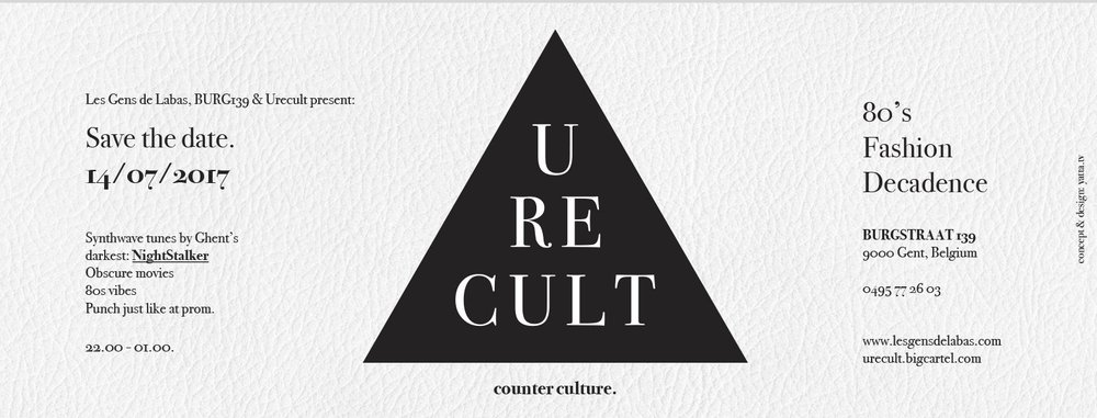 U r e c u l t   - Event planning, design & copy