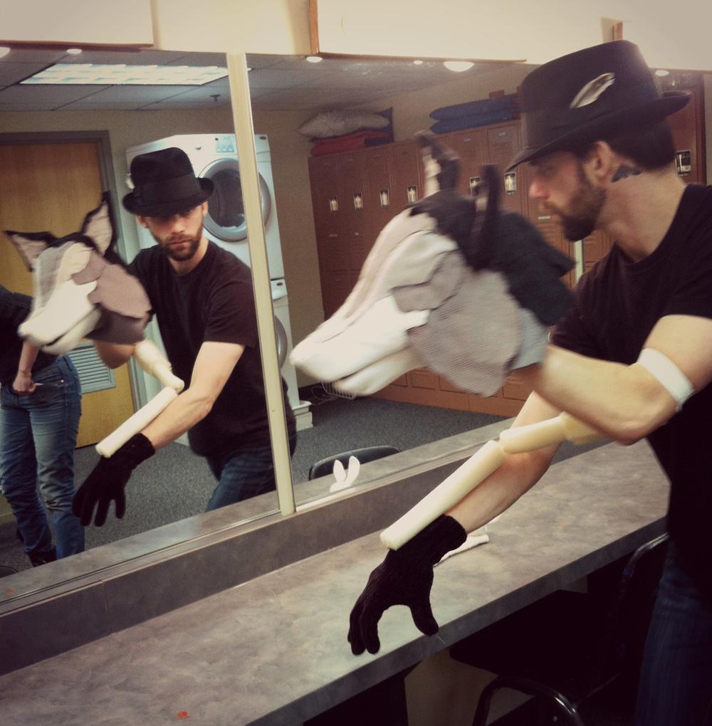 Voolf rehearsals