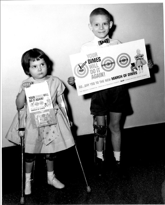 March Of Dimes 1960 -