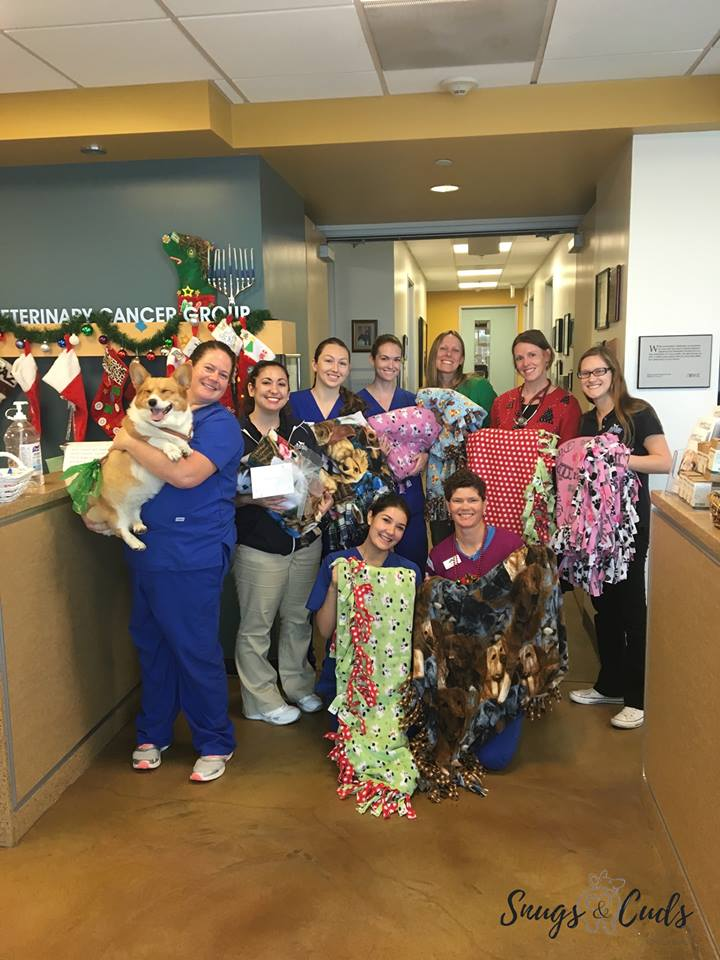 The incredible staff at the Vet  Cancer Group that helped us      week in and week out! -