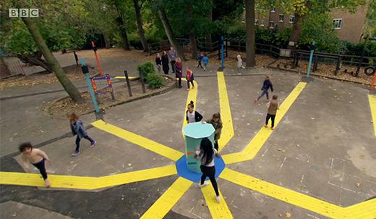 Josh's Playground. Image: BBC