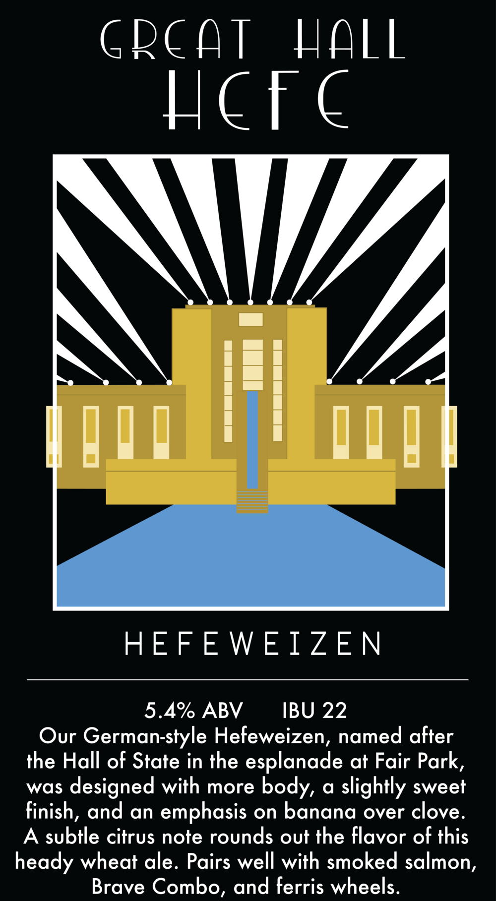 Great Hall Hefe Beer Poster.png