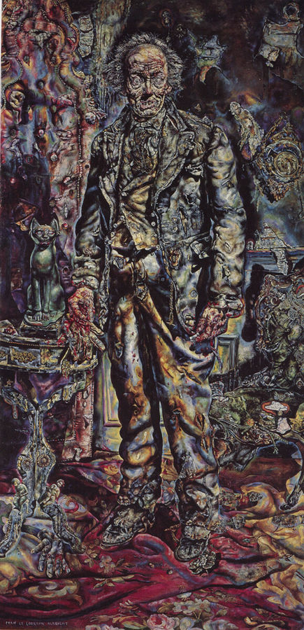 A Portrait of Dorian Gray, painted by Ivan Albright