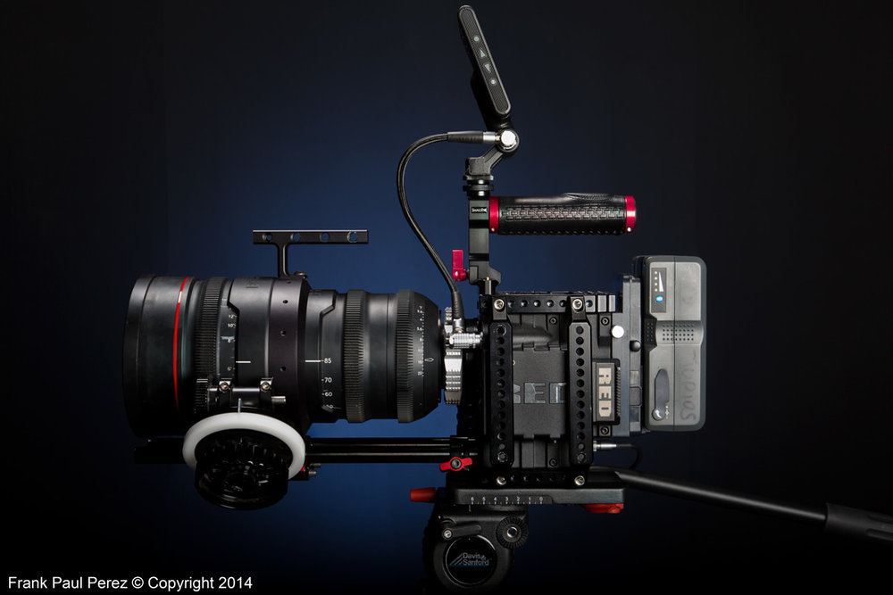 Our 5K Red Epic with Red Pro Zoom 18-85mm