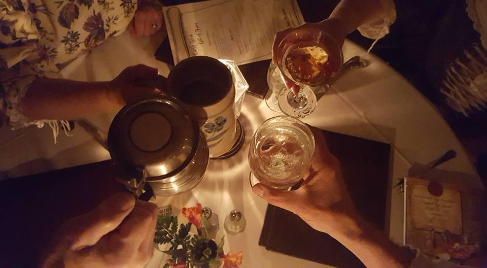 Reenactors putting drinks together.jpg