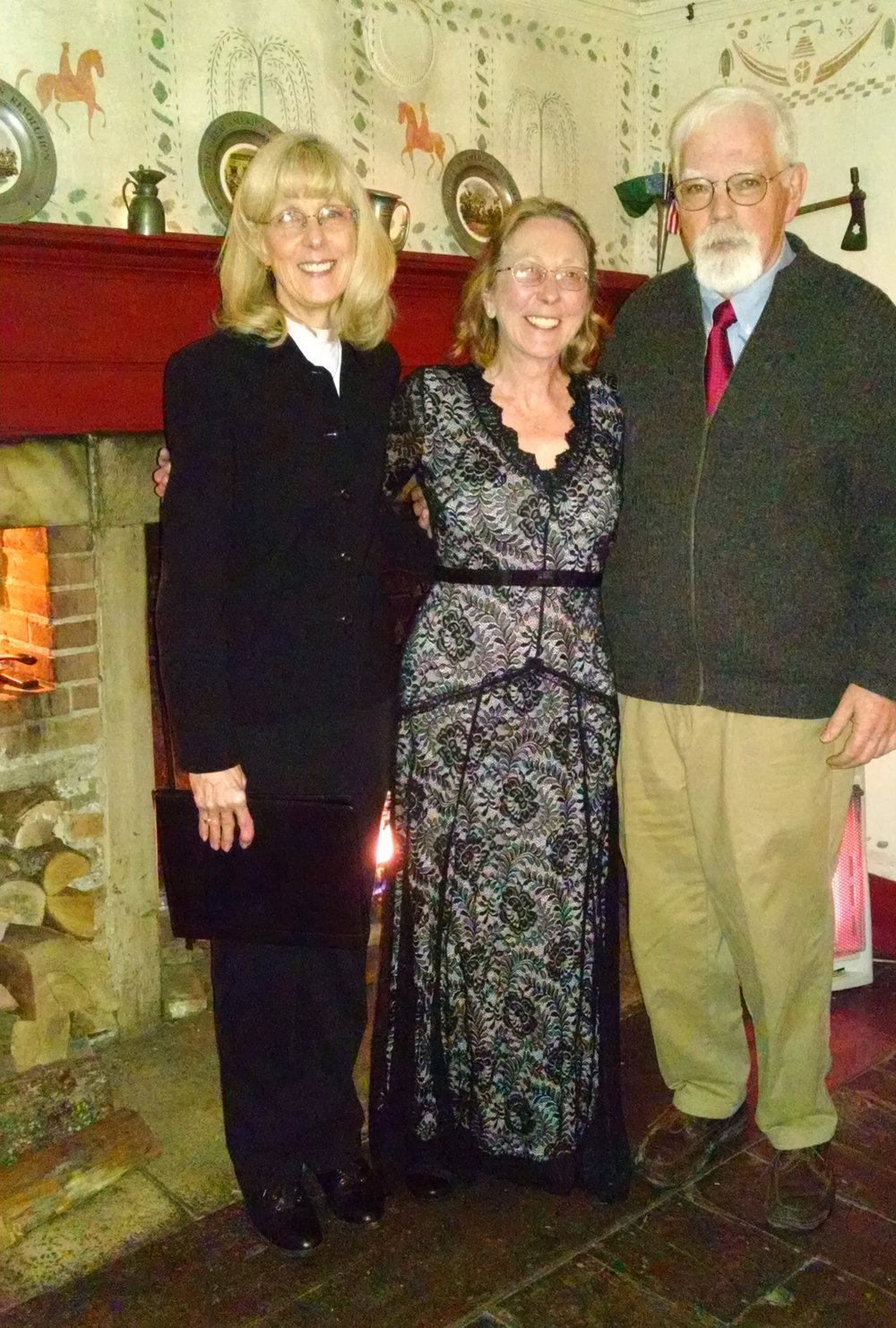 Laure Palmer, Rom Williams and  Cynthia Kilburn married Feb 13, 2015.jpg