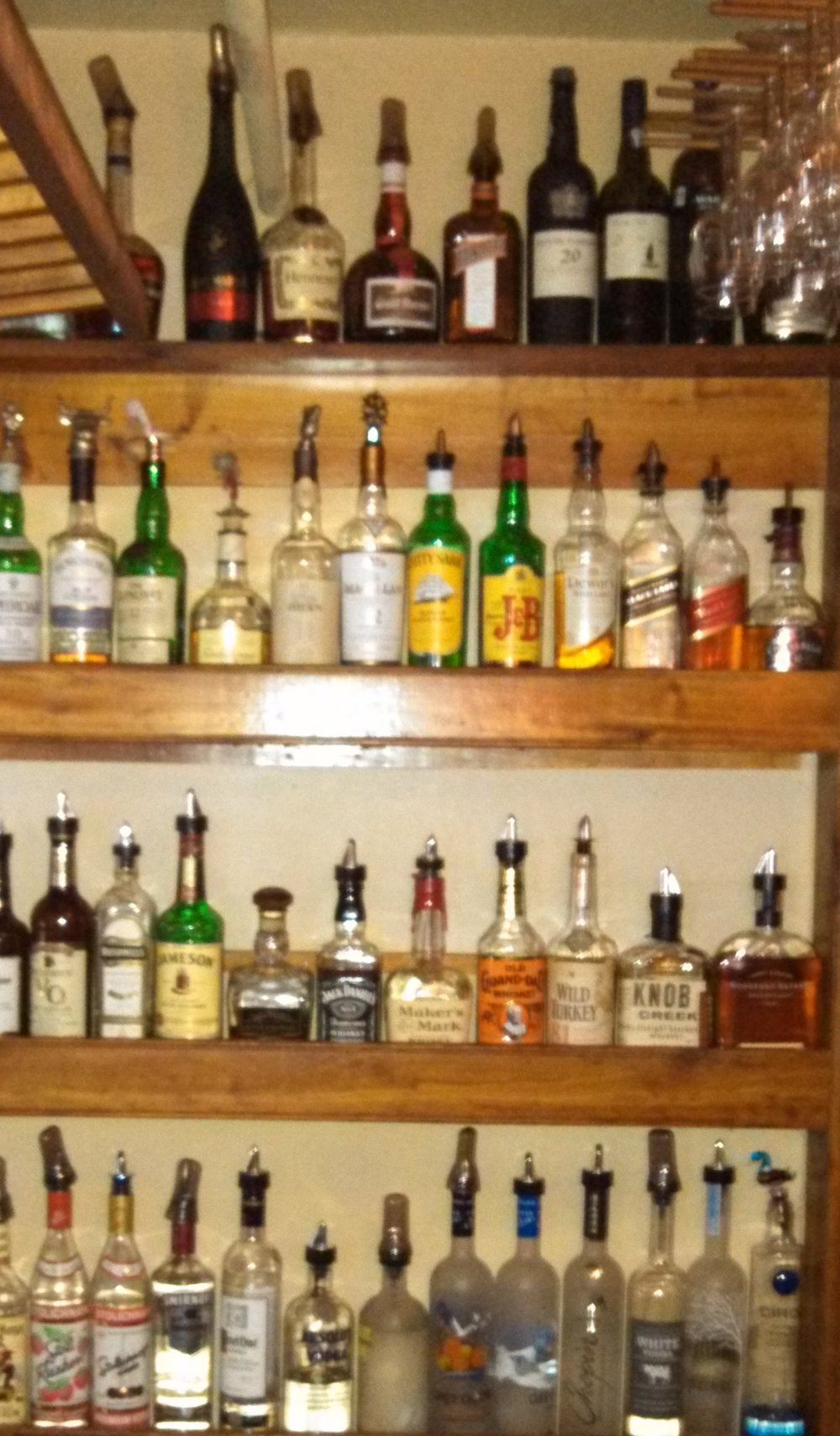 Liquor at our bar.jpg