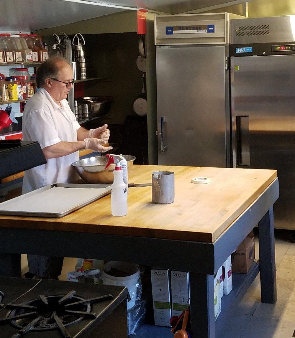 Cliff Cooper making Vegetarian Meatballs Feb 2018.jpg