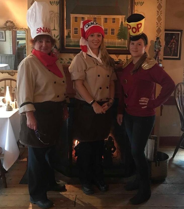 Halloween 2018 Larissa Debruin, tiffany desmaris and Marie leavey. Snap Crackle Pop.jpg