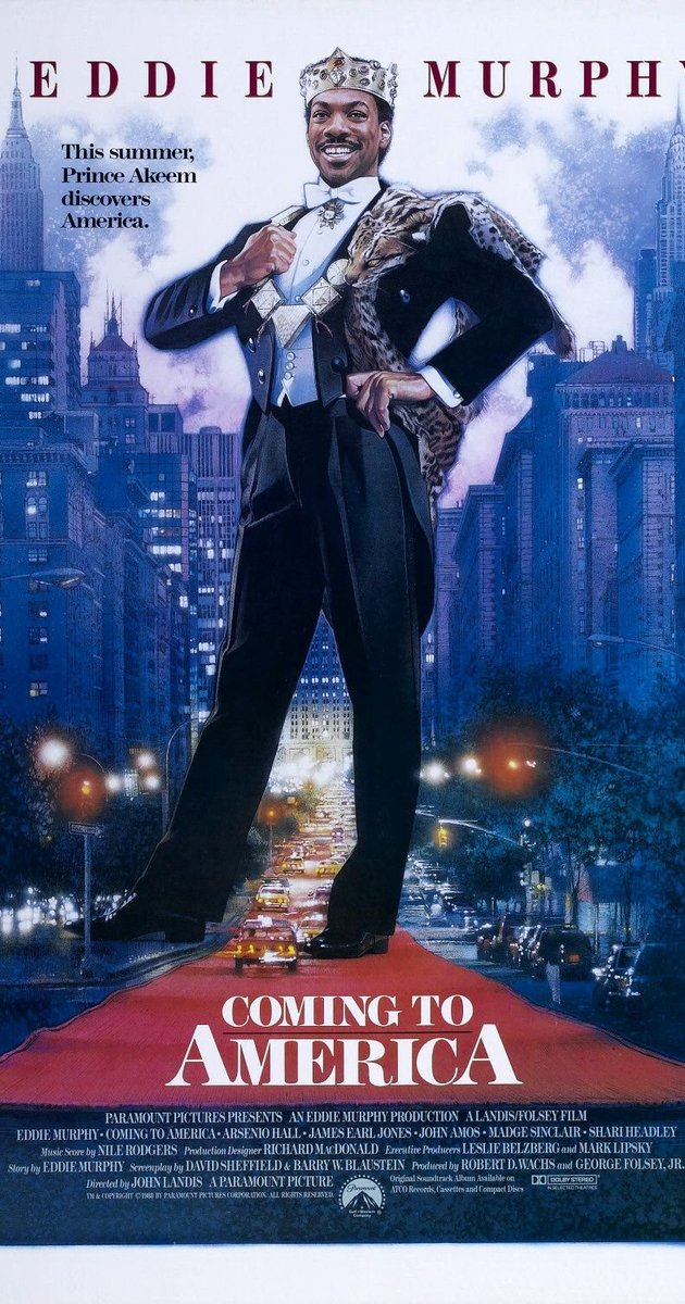 Rainy day film? - Coming to America